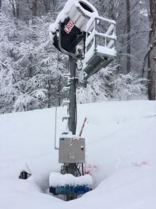 Компрессор Hydrovane в составе снежной пушки